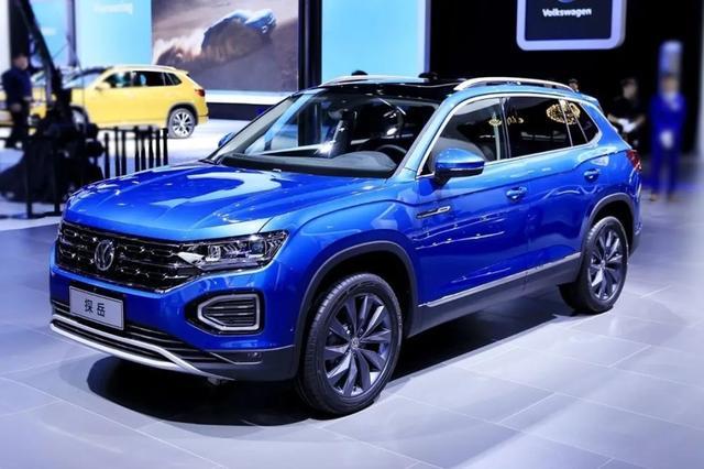 2020年6月20万级SUV降价排行榜:途观降价4.5万