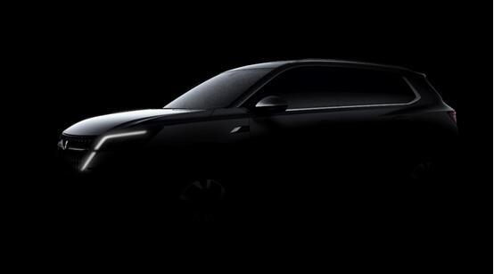 造型动感凌厉,五菱全球银标首款战略型SUV草图曝光