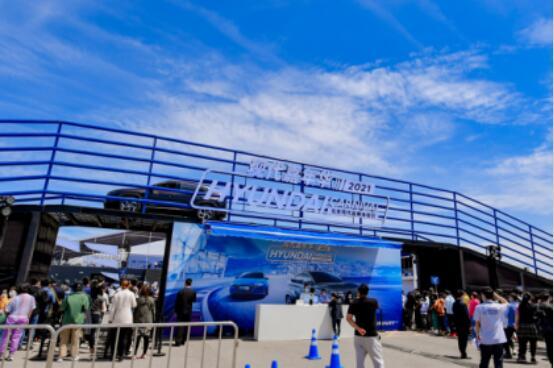 科技与技术的结合 北京现代的诚心盛会